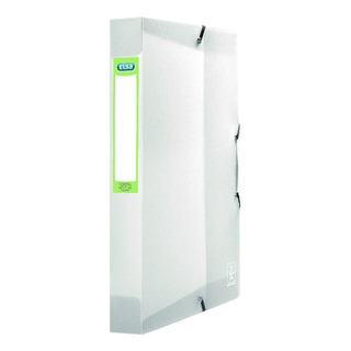 2nd Life A4 Polypropylene Box File Clear 4000713