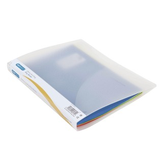 2 Ring Binder 25mm Clear (10 Pack) 0715