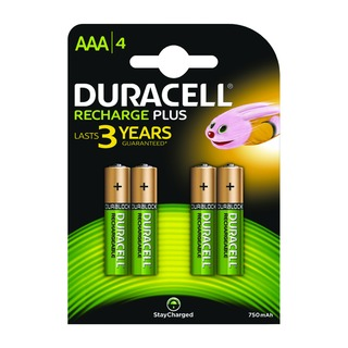Stay Charged Rechargeable AAA NiMH 750mAh Batteries (4 Pack) 8136475