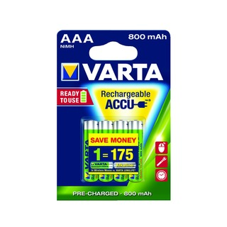 AAA Rechargeable Accu Battery NiMH 800 mAh (4 Pack) 56703101404