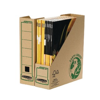 Bankers Box Earth Series Brown Magazine File (20 Pack) 4470001