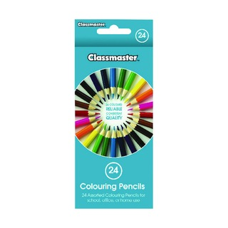 Colouring Pencils Assorted CPW24