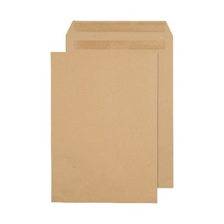 C4 Envelope 90gsm Self Seal Manilla (250 Pack) X1082/0