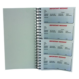 Telephone Message Book 400 Messages Duplicate