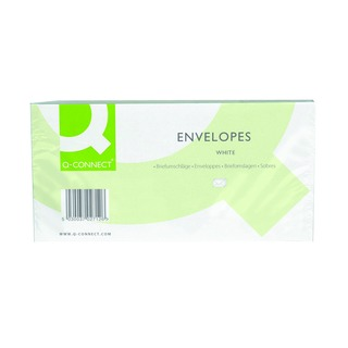 DL Envelope 100gsm Window Peel and Seal White (500 Pack)