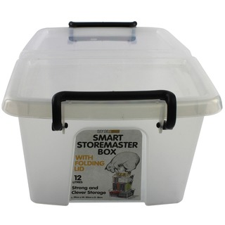 Clear Smart Storage Box 12 Litre HW671