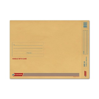 Bubble Lined Envelope Size 10 350x470mm Gold (50 Pack)