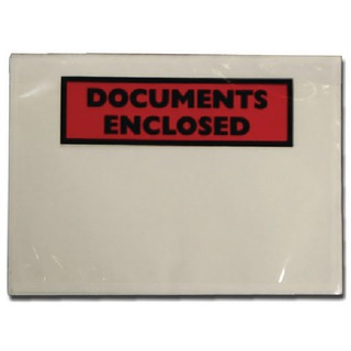 Documents Enclosed Self-Adhesive DL Document Envelopes (Pk 1000 Pack) 4302004
