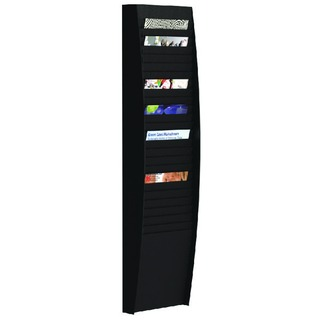 A4 Document Control Panel 25 Compartments Black V125.