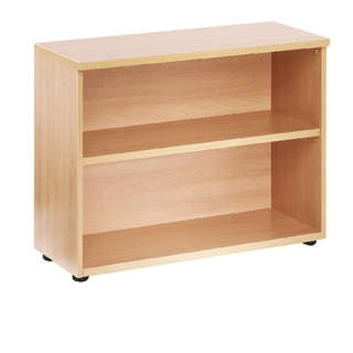 Oak 1 Shelf 730mm Bookcase