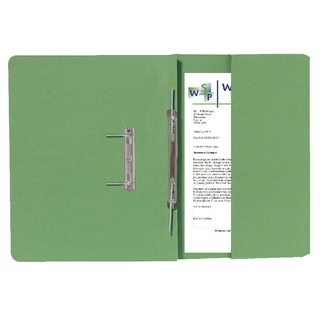 Green Foolscap Right Hand Pocket Spiral File (25 Pack) 211/9062Z
