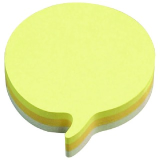 Post-it Speech Bubble 70 x 70mm Rainbow Notes (12 Pack)