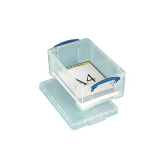 9L Box With Lid Clear 395x255x155mm
