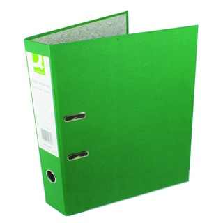 Green Foolscap Paperbacked Lever Arch File (10 Pack)