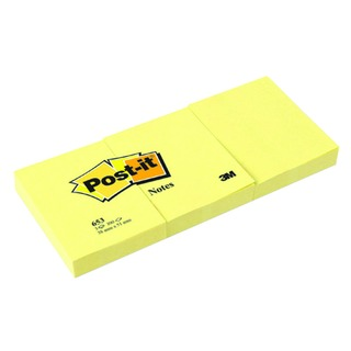 Post-it 38x51mm Canary Yellow Notes (12 Pack) 653Y