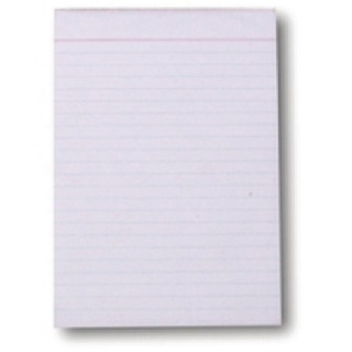 Scribble Pad 203 x 127mm Feint Ruled 160 Pages (20 Pack) C60FW