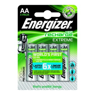 Extreme Rechargable AA Batteries 2300mAh (4 Pack) 635730