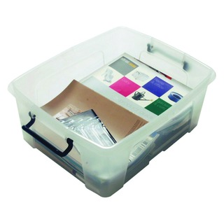 Clear Smart Storage Box 24 Litre HW67