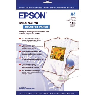 Cool Peel Iron-On Transfer Paper (10 Pack) C13S04115