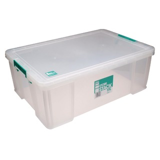 51 Litre Clear W660xD440xH230mm Store Box