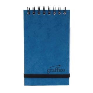 Graffico Twin Wire Pocket A7 Notebook 120 Pages 123-0426