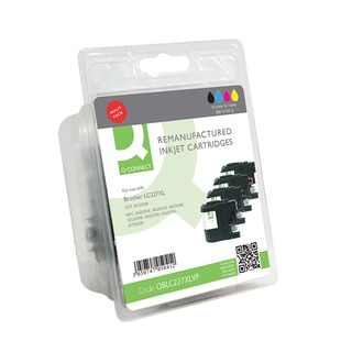 Brother LC227XL Ink Cartridges Multi-Pack LC227XLVALBP-COM