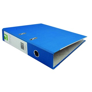 Paper-Backed Blue Lever Arch Foolscap File