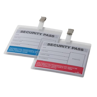 Colour-Coded Security Pass Holder (25 Pack) 999108004