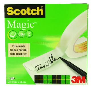 Magic Tape 25mmx66m 81025
