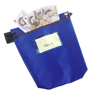 High Security Mailing Pouch Blue CCB