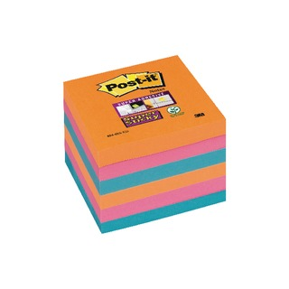 Post-it 76 x 76mm Bangkok Super Sticky Notes (6 Pack) 654-6SS-EG