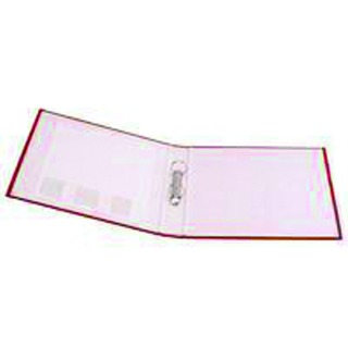 2 Ring 25mm Paper Over Board Red A4 Binder (10 Pack)