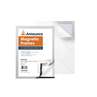 Magnetic Frames A3 Silver (2 Pack)