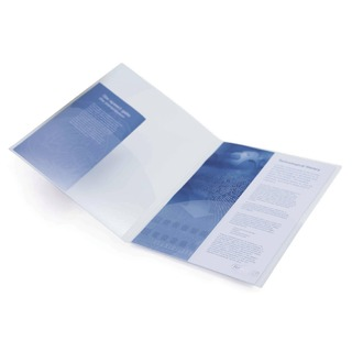 A4 Twin ID File Clear (5 Pack) 787