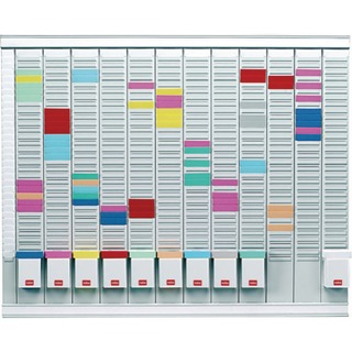 12 T-Card Panel Maxi Office Planning Kit 800x730mm 329
