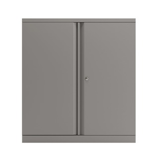 2 Door Cupboard Goose Grey 1016mm Empty KF