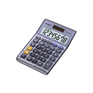 Silver 8-Digit Currency Calculator MS-80VERII-S-EP