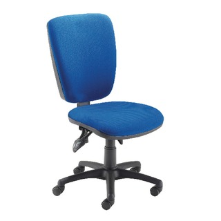 High Back Operator Blue Chair