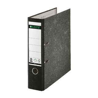 Black Spined Foolscap Lever Arch File (10 Pack)