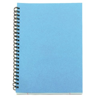 Blue A5 Spiral Pad (12 Pack)