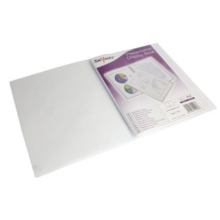 Superline Presentation Book A4 20 Pocket Polypropylene Clear 1195