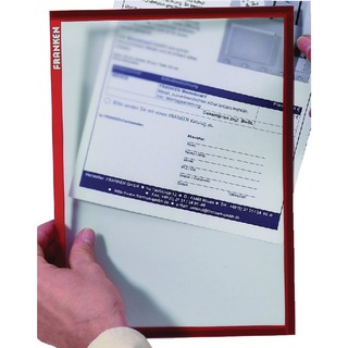 Document Holder A4 Red (Pack of 5) ITSA4M 0