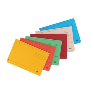 Strongline FC Document Wallets Assorted (10 Pack) 400099327