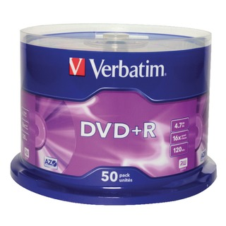 DVD+R 16X Non-Printable Spindle (50 Pack) 43550
