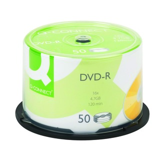 DVD-R 4.7GB Cake Box (50 Pack)