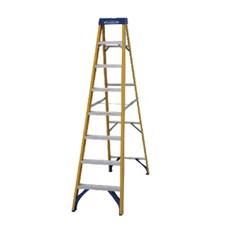 Fibreglass Swingback Step Ladder 8 Tread Yellow 71