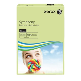 Copier A3 Symphony Tinted 80gsm Pastel Green (500 Pack) 003R