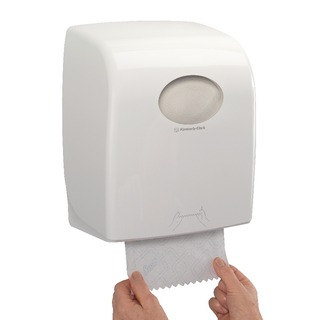Slimroll Rolled Hand Towel Dispenser White 7955