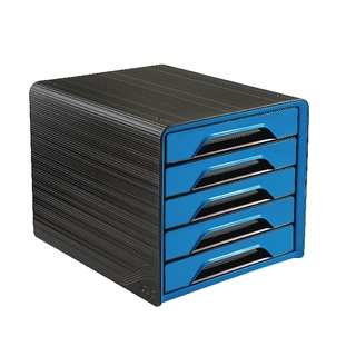 Smoove 5 Drawer Module Black/Blue 10711103