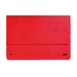 StrongLine Foolscap Document Wallet Red (25 Pack) 10009013